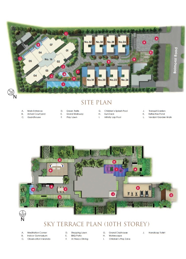 Goodwood Grand Site Map